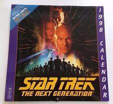 STAR TREK THE NEXT GENERATION 1998 CALENDAR FIRST CONTACT MOVIE COLLECTIBLE