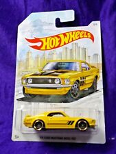 Hot Wheels '69 Ford Mustang Boss 302 Detroit Series #3/6 Die-Cast 1:64 Scale New