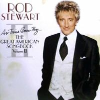 ROD STEWART as time goes by - the great american songbook vol II (CD album 2003)
