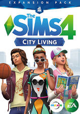 Sims 4: City Living (PC Games)
