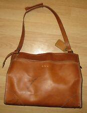 Vintage Hartmann Cognac Brown Overnight/ Weekender Bag