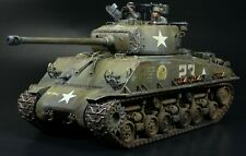 US M4A3E8 Sherman Easy 8 WWII 1/35 Built and Painted