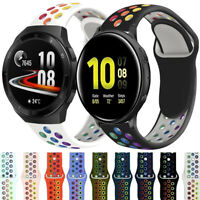 Silicone Sport Watch Band Strap For Samsung Galaxy Watch Active 2 40mm 44mm 42mm