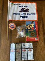 New York Mets Memorabilia. Collection Of New York Mets Items
