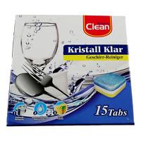 15 Pastilles Blocs de Lave-Vaisselle Nettoyage de la Vaisselle 3en1 Universelles