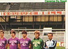 314 EQUIPE TEAM RSC.ANDERLECHT BELGIQUE STICKER FOOTBALL 1980 BENJAMIN RARE NEW