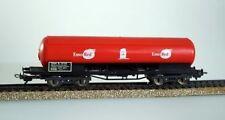 Vagones de mercancías de escala H0 color principal rojo para modelismo ferroviario