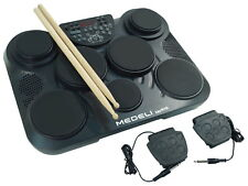 JOHNNY Brook JB450-ELECTRONIC DRUM machine con 7 Drum Pad-Nuovo Spedizione gratuita