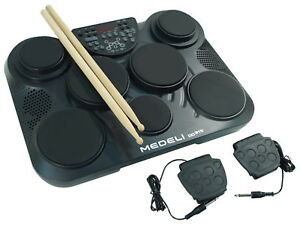 JOHNNY BROOK JB450 - Electronic Drum Machine with 7 Drum Pads - New FREE POSTAGE