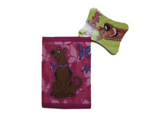 """Scooby-Doo Tri-Fold Wallet 4.5"""" x 3.25"""" ( DARK PINK ) BRAND NEW WITH TAGS"""