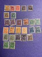 1922 Germany Mint And Used 26 Pcs Stamps, Posthorn-2 Issues, See Photos