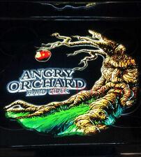 "Angry Orchard Hard Cider 3D Led Neon Sign 17"" Light Lamp Bar Decor Windows Pub"