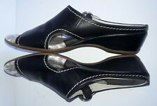 Pikolinos Womens Size 39 EU Black Leather Sandals Shoes 8.5 - 9 US Cushioned