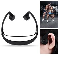Sport Bluetooth Headset Bone Conduction Stereo Headphone Earbuds with Mic On Ear