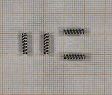 4 x Druckfeder - nichtrostend - Länge 10mm, Außen Ø2,5mm, DrahtØ 0,3mm   (353)