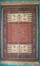 Kilim oriental de Perse / Iranunique tissé à la main64 x 94 cm