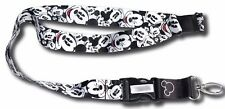 Disney Classic Retro Mickey Mouse Badge Lanyard with Breakaway Clip Keychain