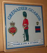 Grenadier Guards coasters (pack of 4) free postage.