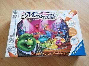 Ravensburger tiptoi  Die monsterstarke Musikschule Lernspiel Lernsystem Spiel