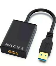 New listing Usb to Hdmi Adapter Usb 3.0/2.0 to Hdmi, Video Graphics Cable Converter For Pc