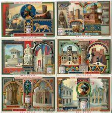 Chromo Liebig Sang. 575 TED Stili d'Architettura II ANNO 1898