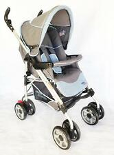 BR New Great Quality Deluxe Recline Baby Stroller Lightweight Pram w Canopy GR
