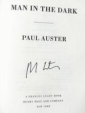 Paul Auster, MAN IN THE DARK *SIGNED* 2008 Hardcover 1ST/1ST Brand New!