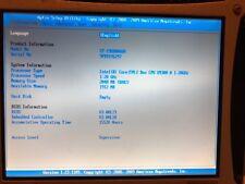 Panasonic CF-19KDRAG6M core 2 duo 1.20ghz 2 gig memory, No HDD/HARD DRIVE CADDY
