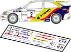 DECALS 1/43 FORD ESCORT COSWORTH #2 - HOLOWCZYC - RALLYE SEMPERIT 1996 - D43007