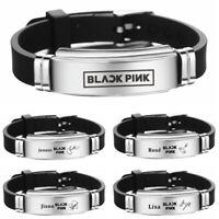 NEU Kpop BLACKPINK Unterschrift Armband LISA JENNIE JISOO ROSE Armband GUT