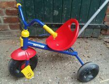Kinder-Dreirad Kettler stabil robust mit Stange