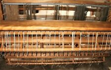 """Nilus LeClerc Large """"Colonial"""" Weaving Loom. 6' x 5'. All there. Working conditi"""