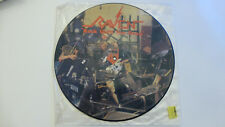 "RAVEN. Rock Until You Drop. 12"" Picture Disc. 1981. Unplayed Condition."