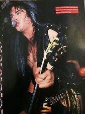Blackie Lawless,W.A.S.P., Full Page Vintage Pinup, Wasp