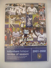 As New! Tottenham Hotspur - Review Of The Season 2001/2002 DVD Spurs 01/02 R:0