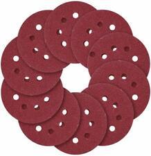 60PCS 5Inch Sanding Discs Hook and Loop 8 Holes Random Orbital Sander Sandpaper