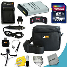 Xtech Kit for Nikon Coolpix P600 Ideal w/ 16GB + Batery / Charger + Case + MORE