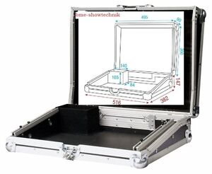 DAP Flightcase Lca-sm24  für Showmaster 24 / Scene Setter - 6 HE - NEU & OVP