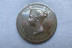 C19th Bronze Medal -- Local Prize for Success in Art -- Darlington -- British