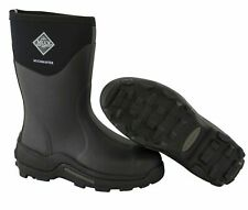 Muck Boot Muckmaster Commercial Grade Accommodate Boot Mid Black MMM-500A