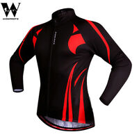 Mens Cycling Jersey Long Sleeve MTB Road Bike Shirt Quick Dry Hiking Sports Tops