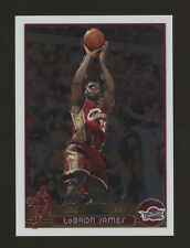 2003-04 Topps Chrome #111 LeBron James Cleveland Cavaliers RC Rookie