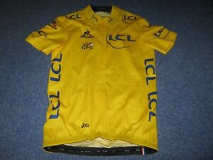 TOUR DE FRANCE 2016 LCS YELLOW LEADERS CYCLING JERSEY [Small]#