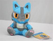 "Pokemon Center Pokedoll Lucario Rukario Plush Toy Collection Doll 6"" US Shipped"