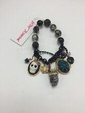 NWT Betsey Johnson Jewelry Halloween Skull Stretch Bracelet BF3