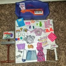 Lot of Barbie Clothes, Accessories, Shoes and Furniture New and used Mattel