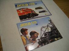 2 AMERICAN FLYER CATALOGS, 24 PG 2012 CATALOG AND 28 PG 2013 CATALOGS BOTH MINT!