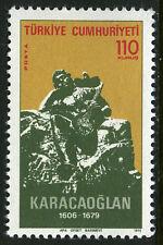 Turkey 2003, MI 2354, MNH. Karacaoglan musician. Monument, 1975