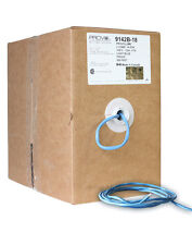 500 Feet 14AWG In-Wall Light Blue Speaker Cable. 14/2 Wire. 99.99% Copper (Box)