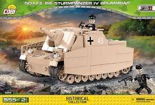 BRICKS COBI 2514 SMALL ARMY Sd.Kfz.166 Sturmpanzer IV Brummbär 555 ELEMENT new